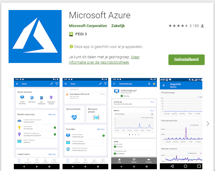 The Azure & M365 mobile apps